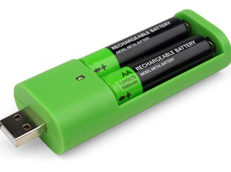 chargeur piles usb