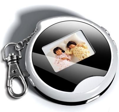 porte-clé cadre photo numérique