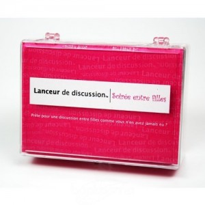 lanceur discussion fille