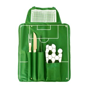 set barbecue football
