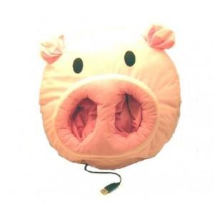 chauffe pieds usb cochon
