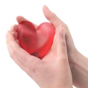 bouillotte coeur chauffant