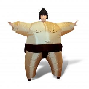costume sumo gonfable