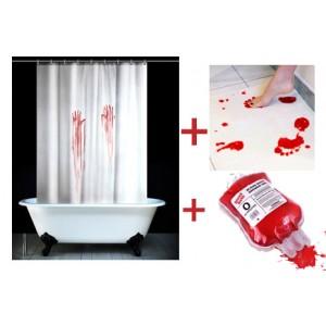 ensemble salle de bain sanglant