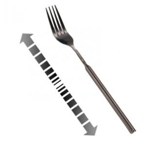 Fourchette télescopique