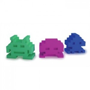 gommes space invaders