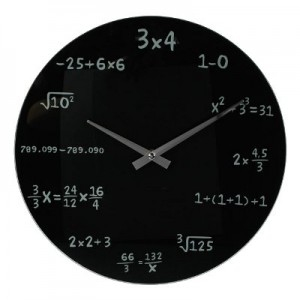 horloge mathematique