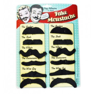 fausses moustaches