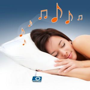oreiller musique