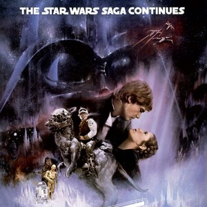 Poster Star Wars L'Empire contre-attaque (US)