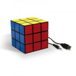 Enceinte Rubik's cube