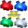 Lampe Space Invaders Multicolore