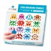 Sticker Pixel Famille Space Invaders