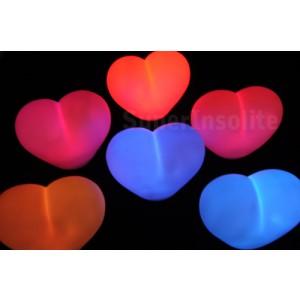 coeur led lumineux