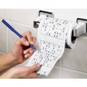 Papier toilette Sudoku (x3)