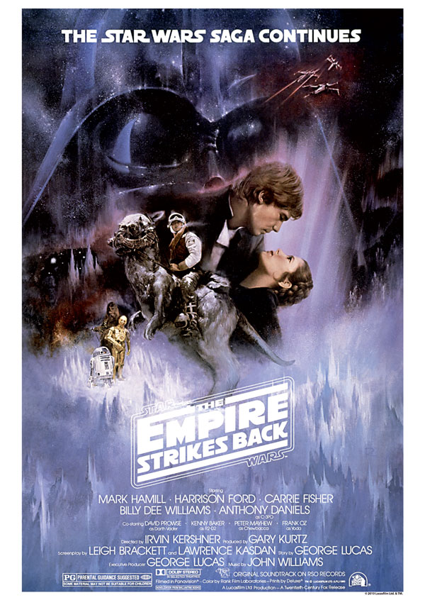 Poster L'Empire contre-attaque