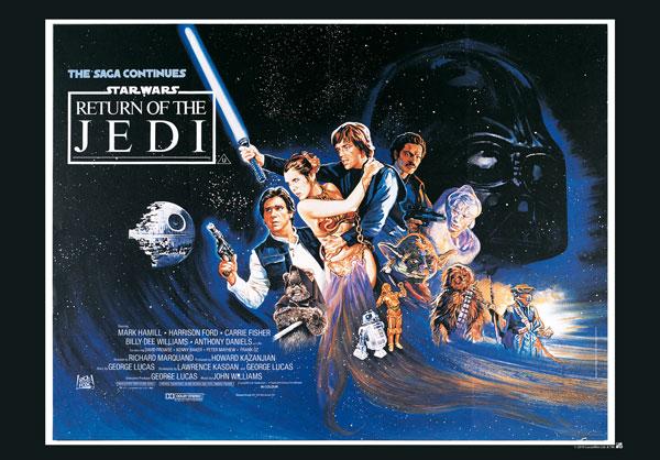 Poster Star Wars Retour du Jedi