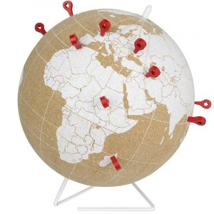 globe terrestre liege
