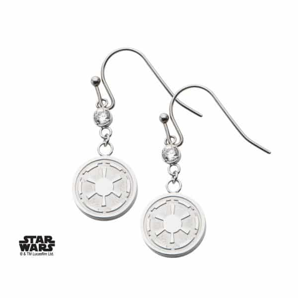 Boucles d'oreilles Star Wars Empire Galactique