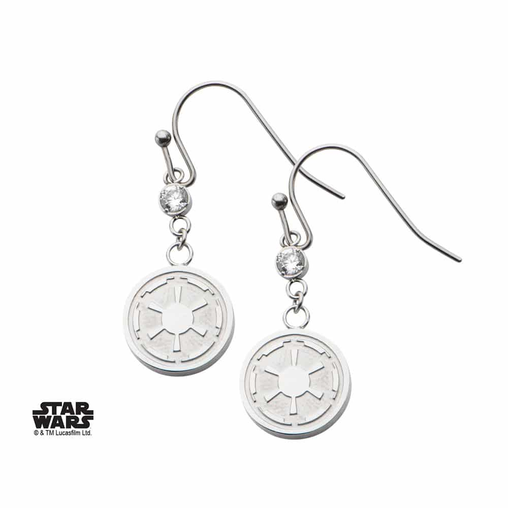 Boucles d'oreilles Star Wars Empire Galactique