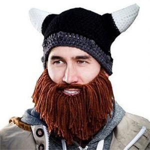 bonnet barbe viking