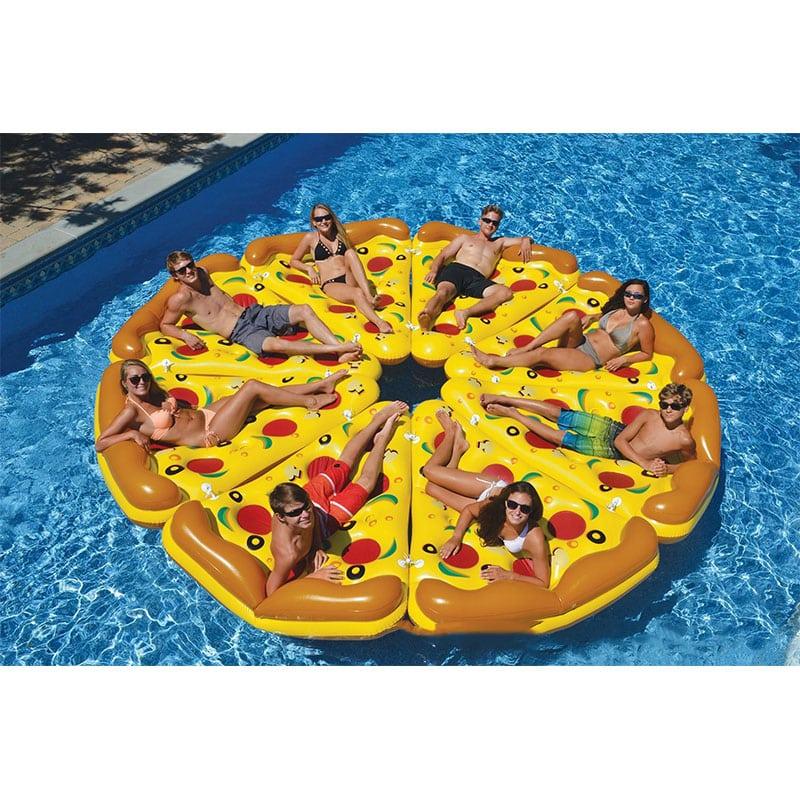 Matelas Gonflable Pizza Insolite   Super Insolite