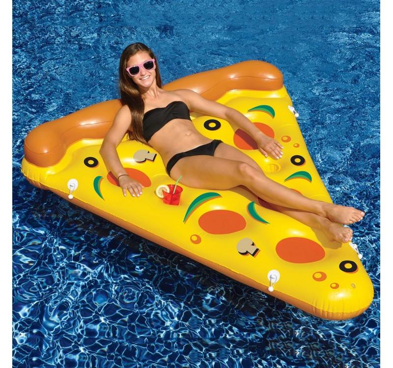 matelas gonflable pizza insolite super insolite. Black Bedroom Furniture Sets. Home Design Ideas