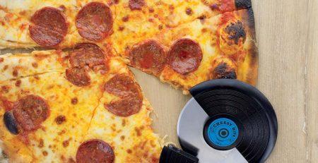 roulette pizza disque vinyle