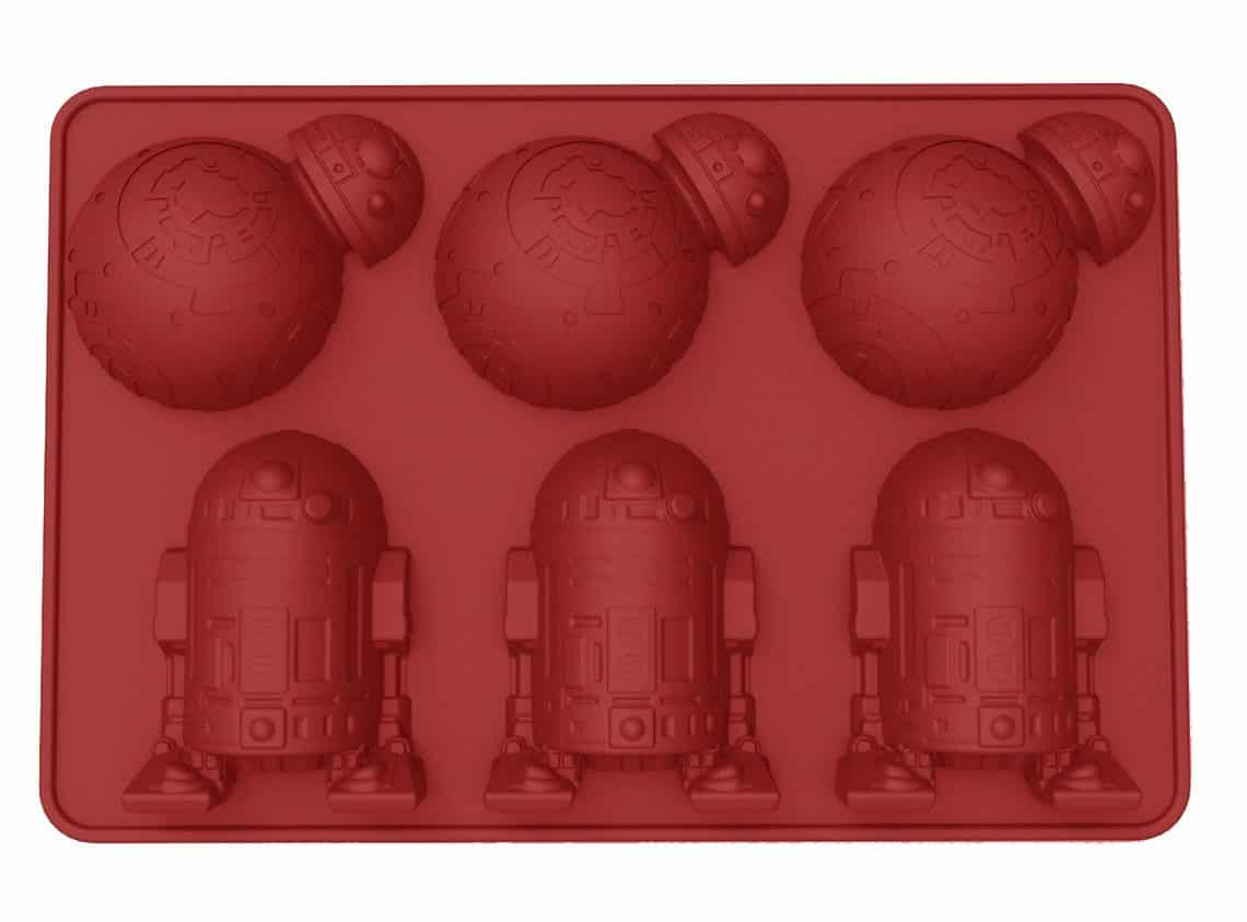 Moule à glaçons R2-D2 et BB-8