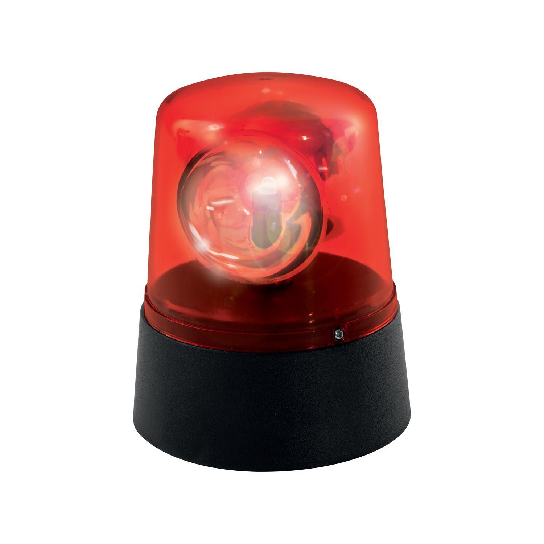 lampe gyrophare de soir e rouge super insolite. Black Bedroom Furniture Sets. Home Design Ideas