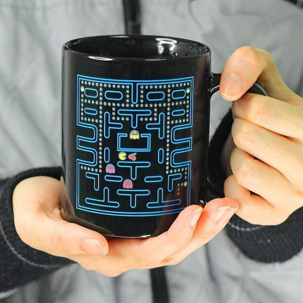 mug pac-man thermoreactif