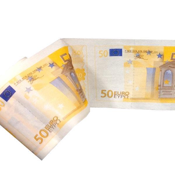 Pics photos papier toilette billets 100 euros - Papier toilette fantaisie ...