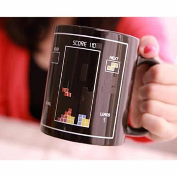 mug tetris chaud froid, le cadeau original