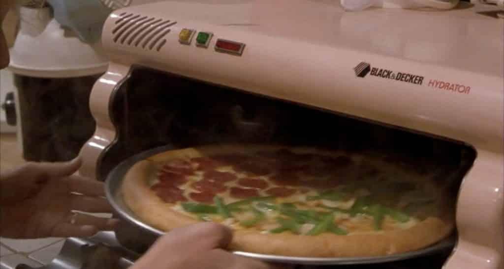 four à pizza retour vers le futur