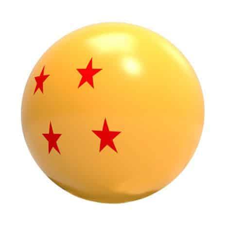 boule de cristal antistress Dragonball