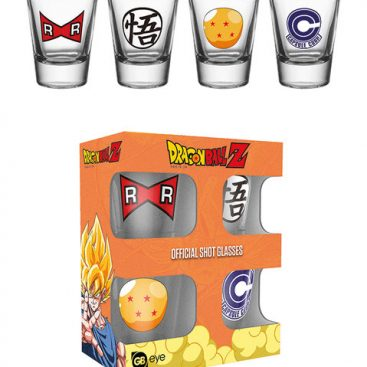 verres à liqueur Dragon Ball Z