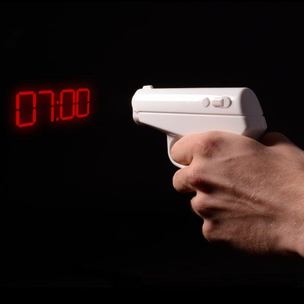 Pistolet réveil 007