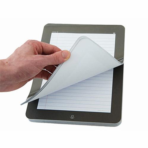 bloc note ipad le carnet papier tablette tactile qui imite l 39 ipad super insolite. Black Bedroom Furniture Sets. Home Design Ideas