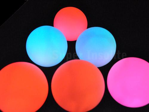 boule de lumi re led une sph re de couleur lumineuse d co super insolite
