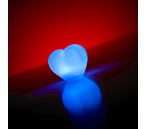 Coeur lumineux led la veilleuse romantique super insolite - Led couleur changeante ...