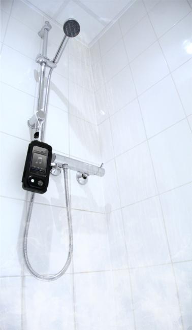 Coque iphone smartphone etanche haut parleur housse for Haut parleur etanche pour piscine