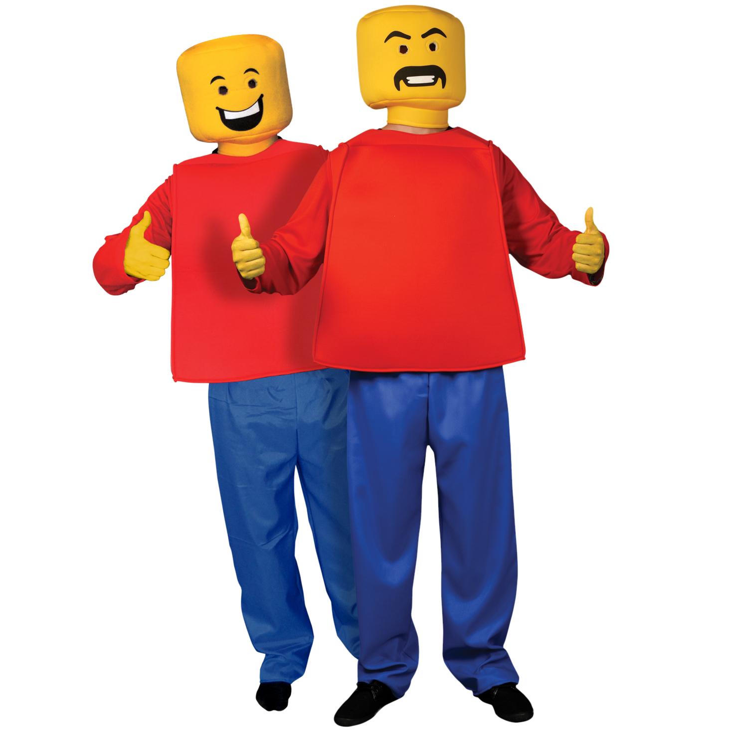 D guisement lego avec ce costume insolite devenez un petit bonhomme lego avec une belle t te - Deguisement tete de lego ...