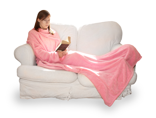 couverture polaire deluxe avec manches plaid ultra. Black Bedroom Furniture Sets. Home Design Ideas