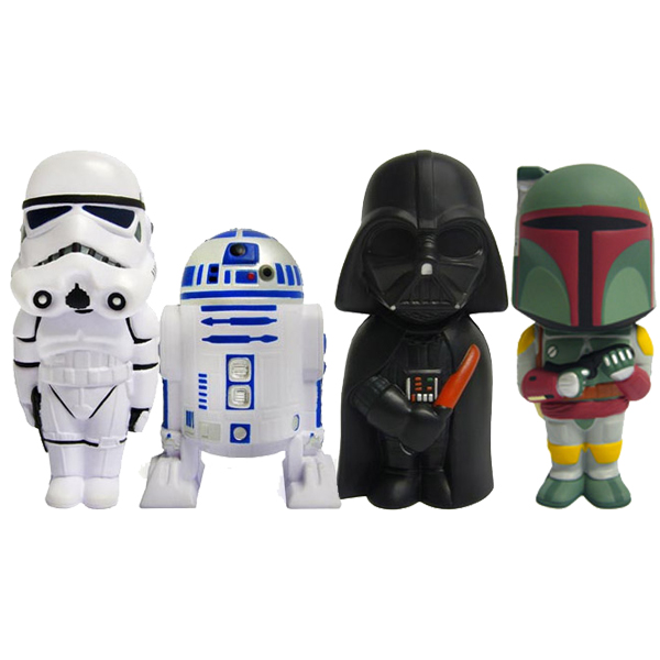 Figurine anti stress star wars d tendez vous en crasant - Grande figurine star wars ...