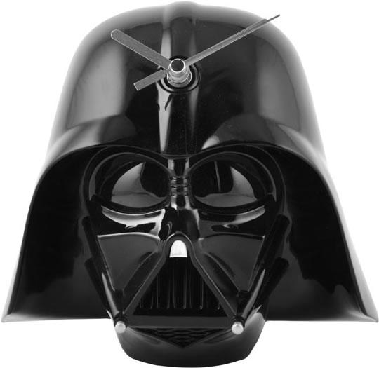 horloge murale dark vador un cadeau star wars qui vous donne l 39 heure avec darth vader super. Black Bedroom Furniture Sets. Home Design Ideas