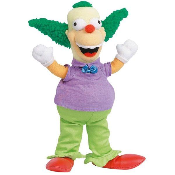 Krusty peluche simpsons super insolite - Simpson le clown ...