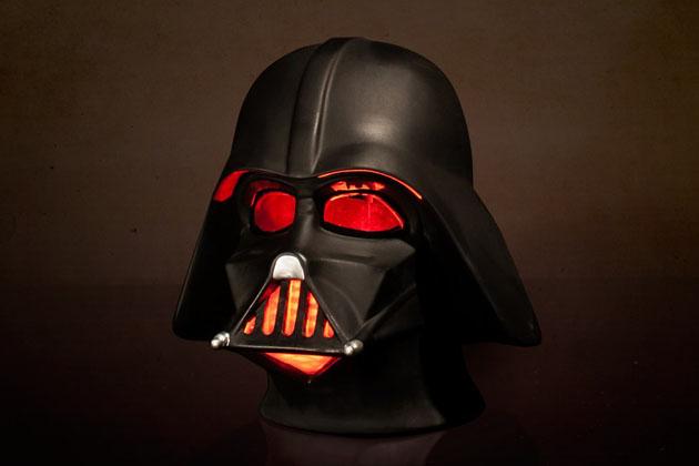 Lampe d 39 ambiance dark vador star wars super insolite - Image dark vador ...