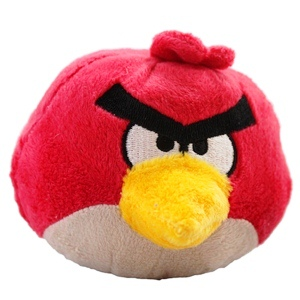 Peluche sonore angry birds rouge gazouillis tweet super insolite - Angry birds rouge ...