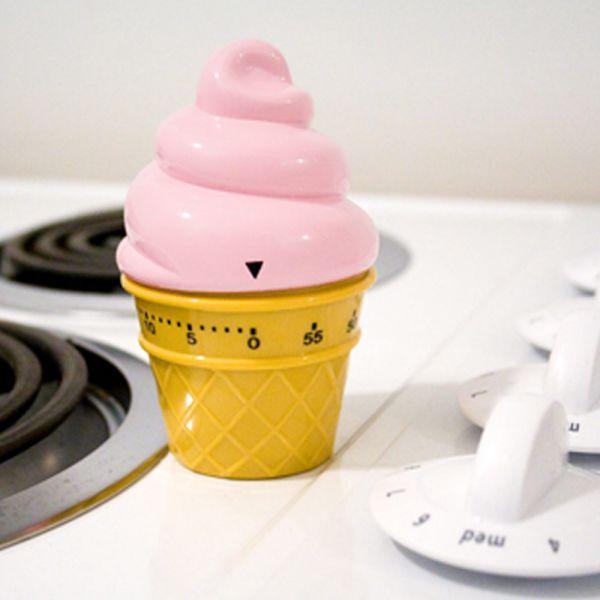 Minuteur de cuisine glace l 39 italienne minuteur - Minuteur 10 minutes ...