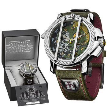 montre star wars la montre pour les fanatiques de la saga star wars super insolite. Black Bedroom Furniture Sets. Home Design Ideas